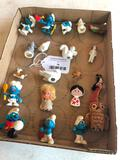 Group Of Miniature Smurf's & Other Miniatures