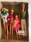 Vintage 60's Dolls! Barbie's, Ken, & Midge
