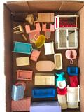 Group Of 1960's Plastic Doll House Furniture