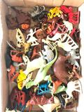 Group Of 60's Plastic Animals