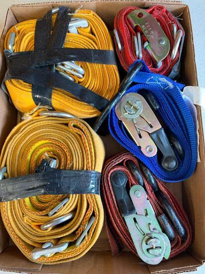 (5) Tie-Down Straps