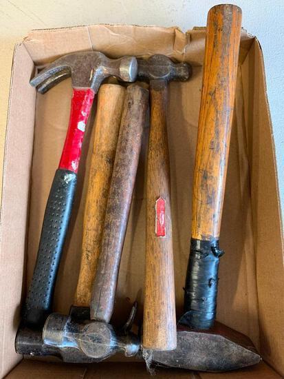 (5) Shop/Garage Hammers