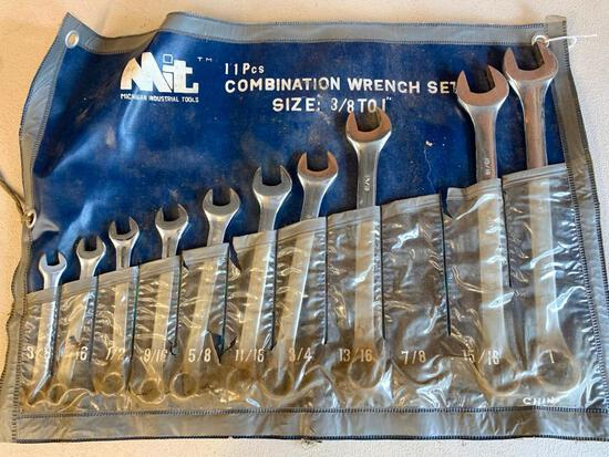 (10) Pc. Combination Wrench Set In Pouch