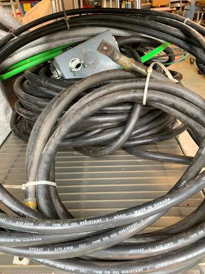 Large Lot Of Assorted Cable & Wires