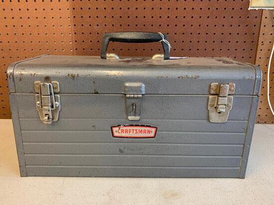 Craftsman Carry Style tool Box W/Insert Tray