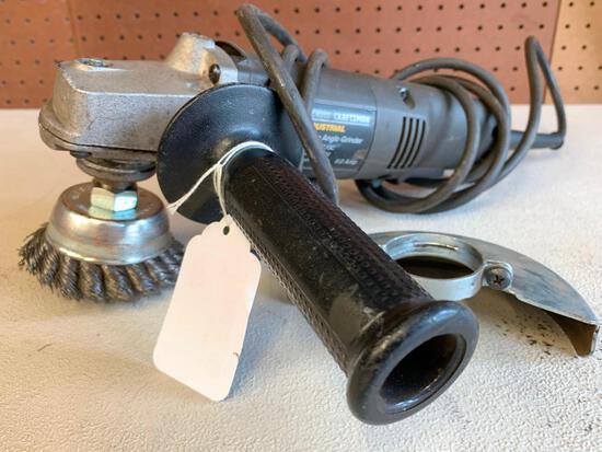 """Craftsman Industrial 4.5"""" Angle Grinder"""