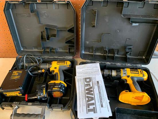 Dewalt XRP Hammer Drill In Case W/Battery & Charger