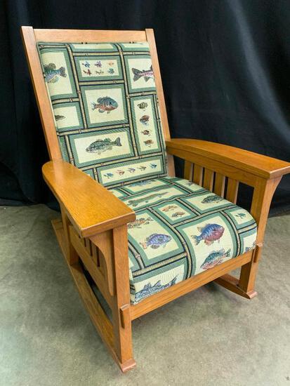 Southwest Style,Oak, Rocking Chair