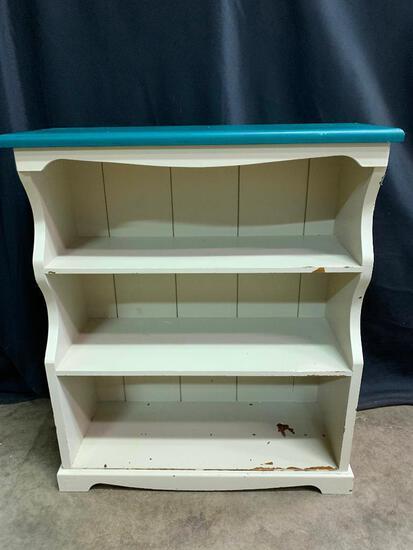 Painted, Wood Bookshelf