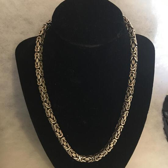 Sterling .925 Lois Hill Necklace