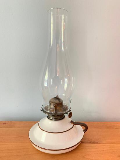 Pottery Finger Oil Lamp From Lamp Light Farms