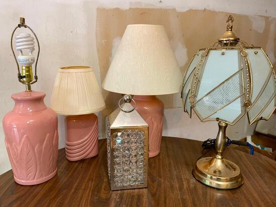 Group of Five Different Types of Lamps for All Lifestyles!