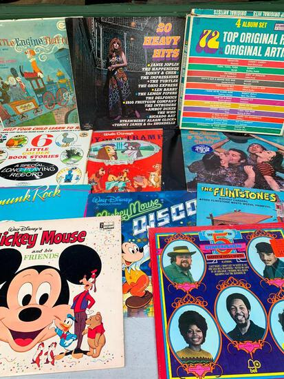 Group of Records as Pictured
