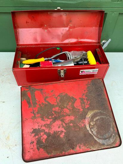 Vermont America Tool Box and Snap On Shelf