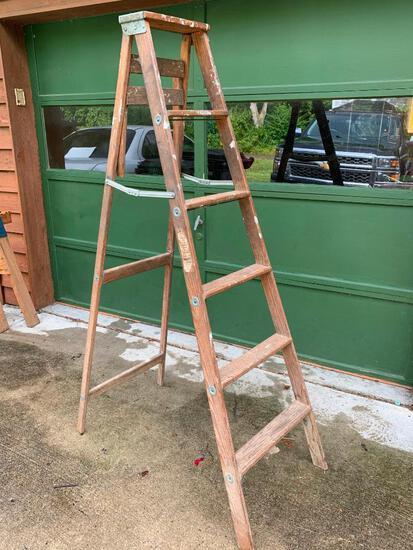 Keller, Wood 6 Foot Step Ladder