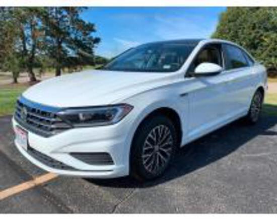 Online Auction of 2019 Volkswagen Jetta