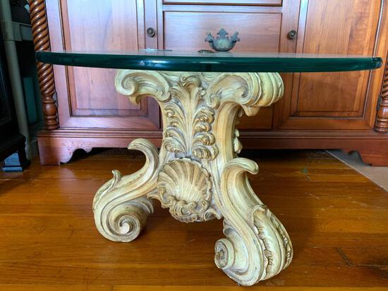 American of Chicago, Universal Statuary Corp., Glass Top End Table
