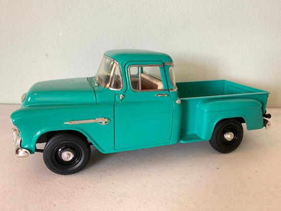 Contemporary Ertl , Die Cast 1955 Chevrolet Truck
