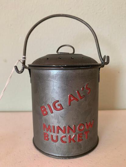 Little Tin, Big Al's Minnow Bucket