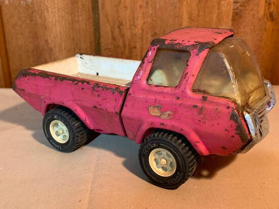 Pink, Tonka Truck