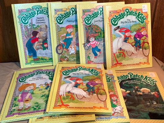 Set of 9 Cabbage Patch Kids Books