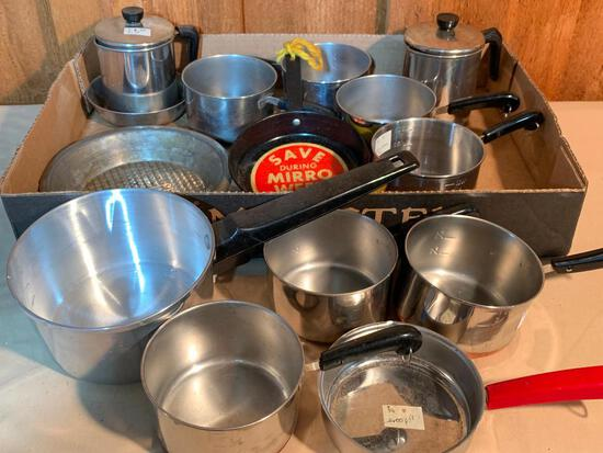 Group of Toy/Doll Pots and Pans