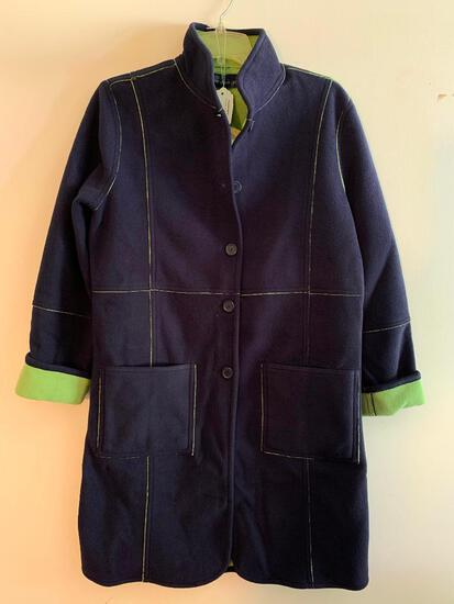 Susan Graver Ladies, Fleece Jacket, Size Small