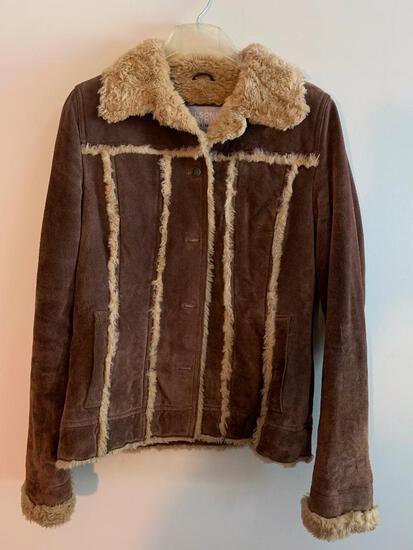 Wilson Leather, Ladies Coat, Size Small