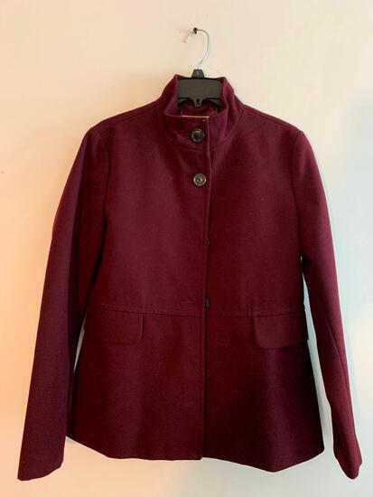 Old Navy Maroon, Medium, Ladies Coat
