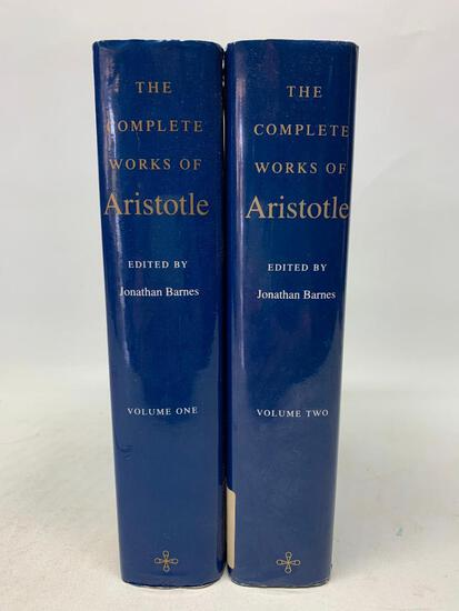 Barnes, The Complete Works of Aristotle. Two Volume Reprint Edition