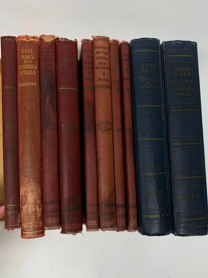 Group of Mostly Karl Marx Books