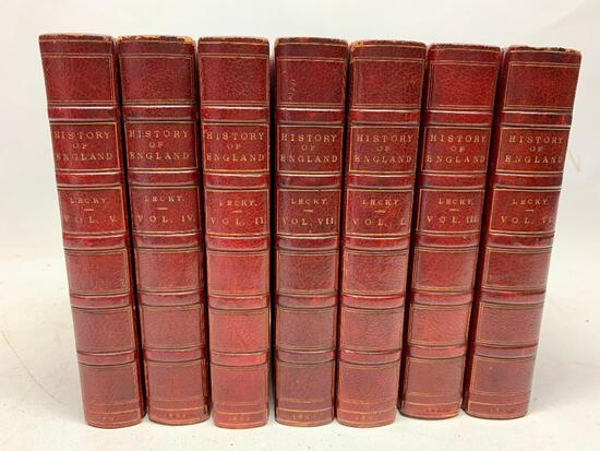 History of England in The 18th Century, London: Longmans, 1892 Cabinet Edition