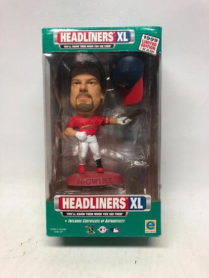 1999, Headliners XL, Mark McGwire in Original Box
