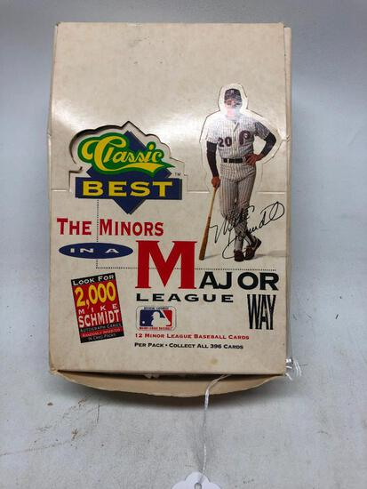 Box of 1991 Classic Best, The Minors In a Major League Way