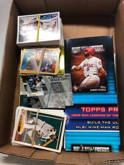 Group of 420, 2012 Topps Baseball Cards