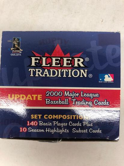 2000 Fleer Tradition Update Baseball Factory Set