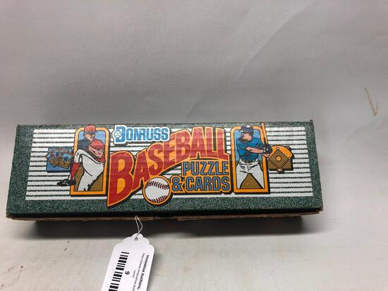 1990 Donruss Baseball Puzzle and Cards in Original Box