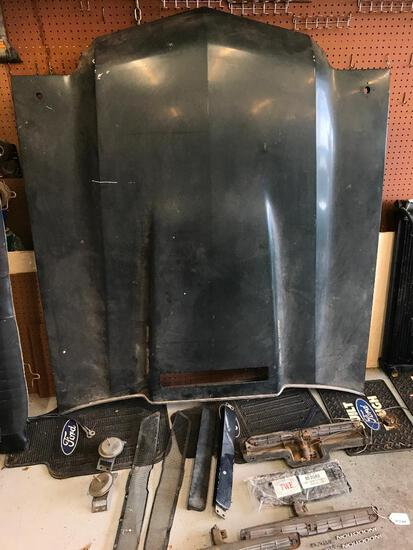 Original, 1970 SS Chevelle Cowl Induction Hood with All Shown