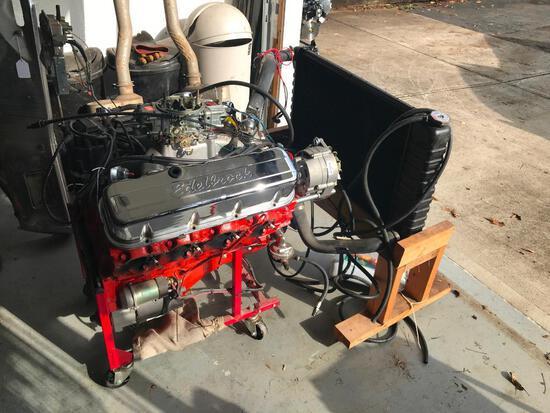 Rebuilt 408 BIg Block Motor with Radiator