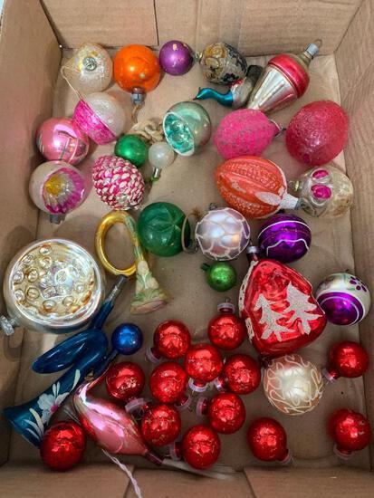 Lot of Vintage Miniature Christmas Ornaments