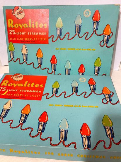 2 Boxes of Royalites String Lights