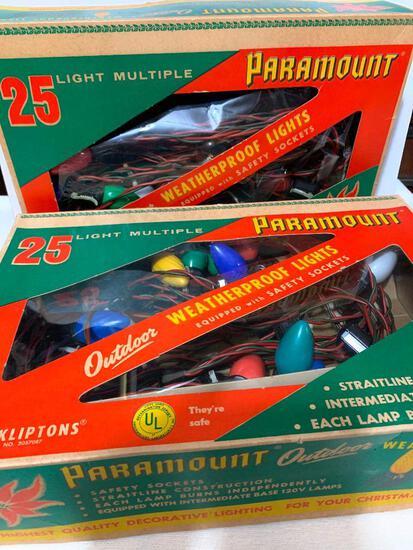 2 Boxes of Paramount Outdoor Weatherproof Lights