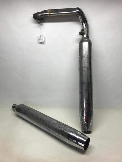 Used Harley Davidson exhaust 65846-10A and 65538-09 as Pictured