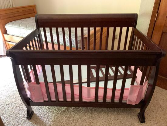 Contemporay Baby Bed as Pictured