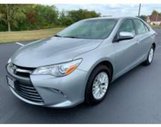 Online Only Auction of 2017 Toyota Camry