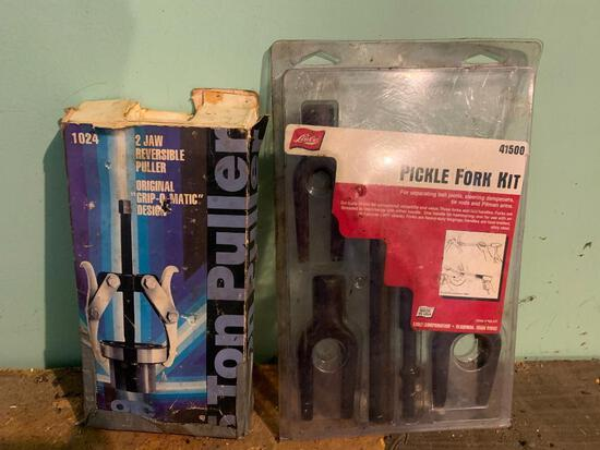 Pickle Fork Kit and 5-Ton Puller as Pictured
