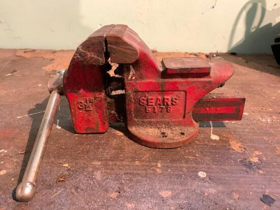Sears, 3 1/2 Ton Vice