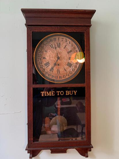 Antique Sessions, Store Wall Clock