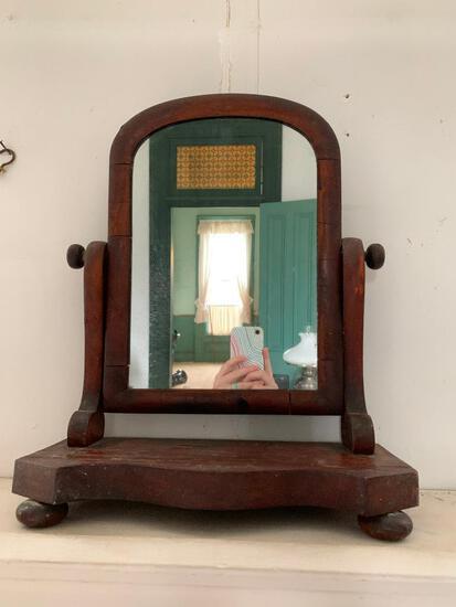 Antique, Dresser Top Mirror