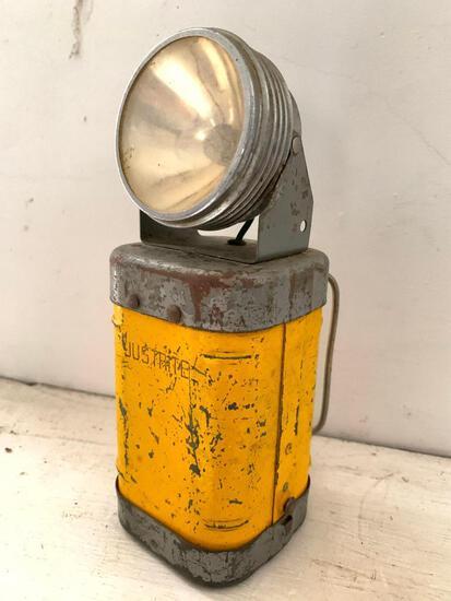 Vintage Justritte Metal Lantern